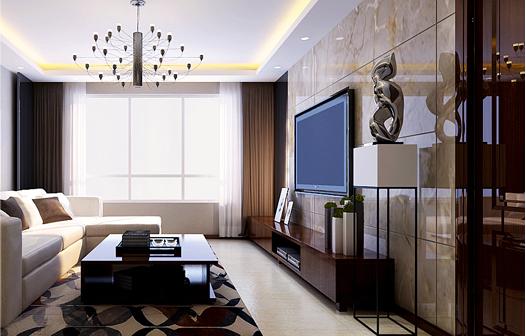 重庆旧房装修案例_177平米新中式风格装修效果图32.