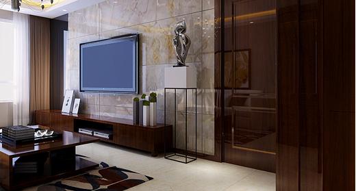 重庆旧房装修案例_177平米新中式风格装修效果图33.