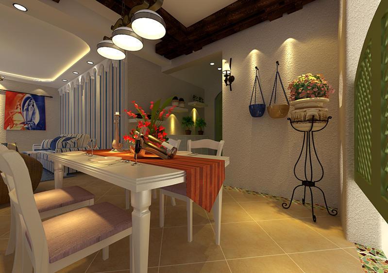 重庆新房装修案例_160平米地中海风格装修效果图50