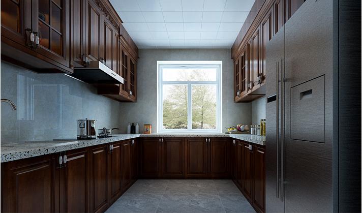 重庆新房装修案例_120平米美式风格装修效果图40.