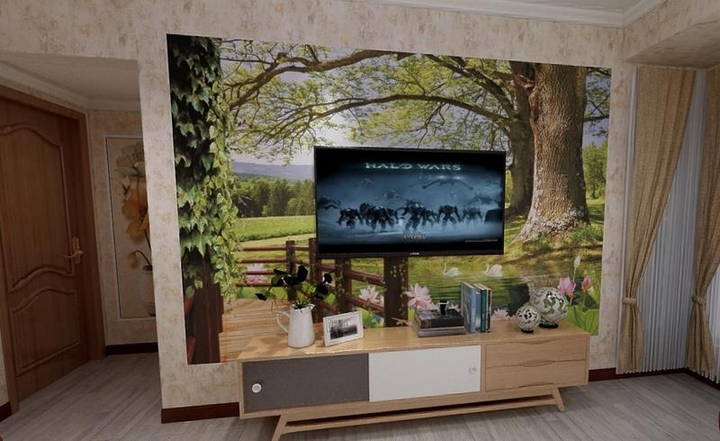 紫荆花园3D装修设计效果图
