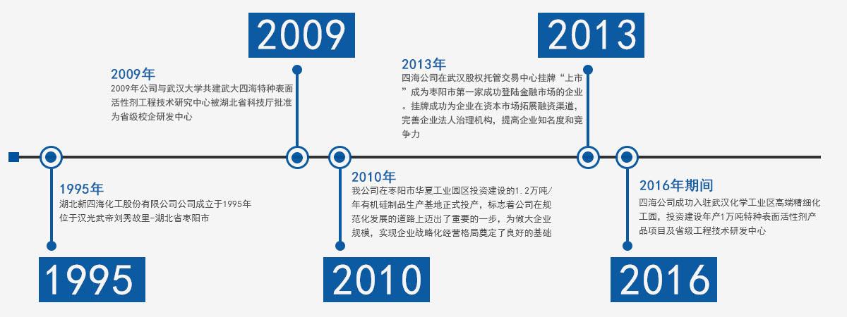 四海公司发展历程