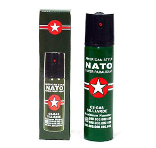 NATO哥伦比亚射流型防狼喷雾剂