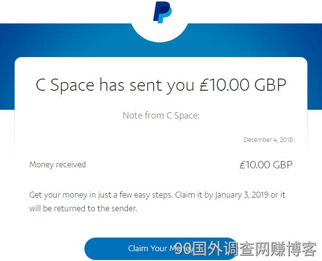 某国外调查社区关闭前的最后一笔收入500多英镑