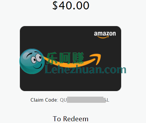 Recollective类国外调查社区2收800刀Amazon Gift Card。