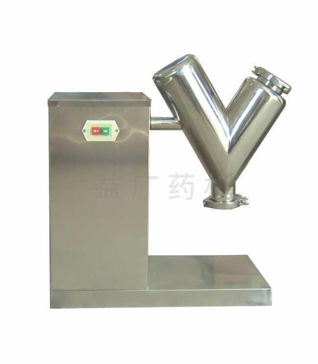 各种物料在混合机械中的混合程度,取决于待混物料的份额、物理情况和特性