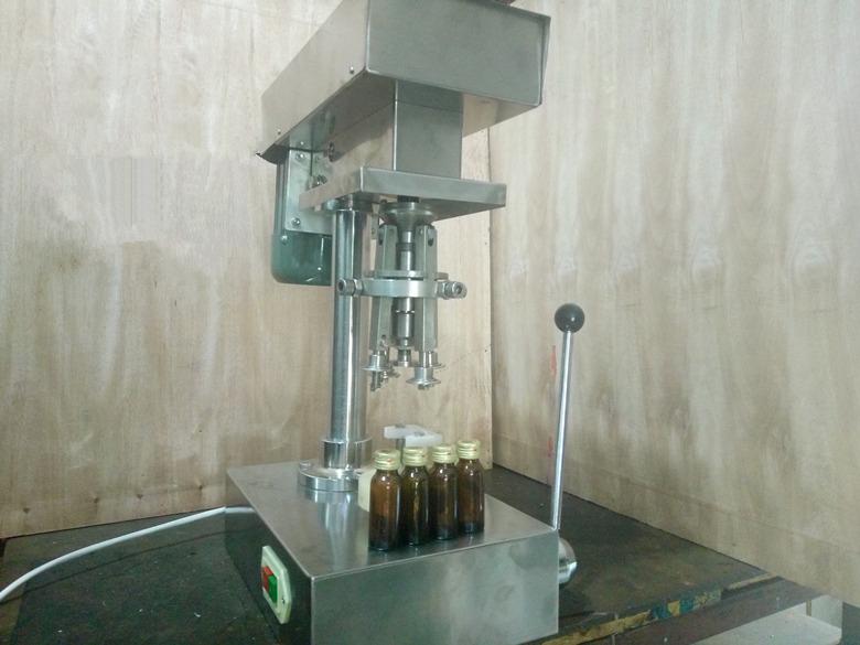 DLW-28螺纹口轧盖机