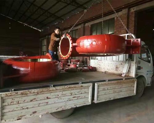 脱硫泵蜗壳装车发货