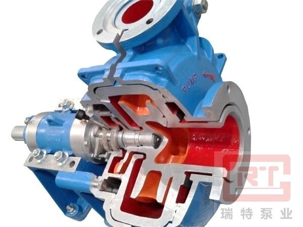 Slurry pump design