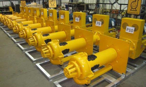 立式液下渣浆泵生产图