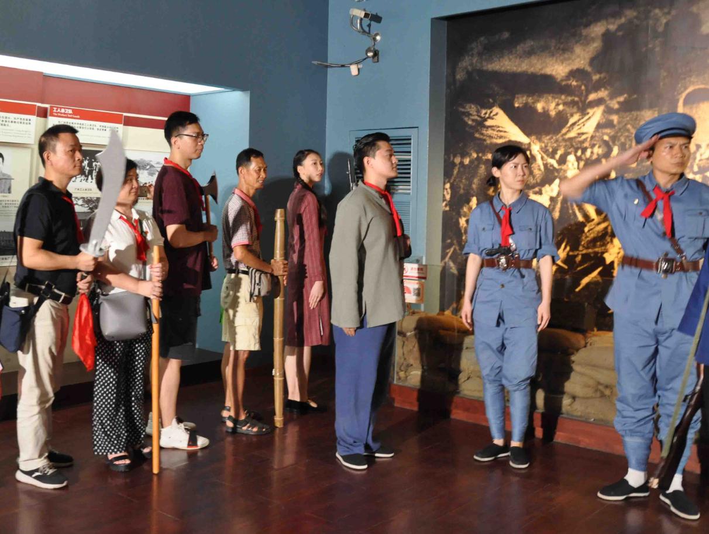 """想亲身感受""""广州起义""""吗?来这个博物馆体验沉浸式话剧吧!"""