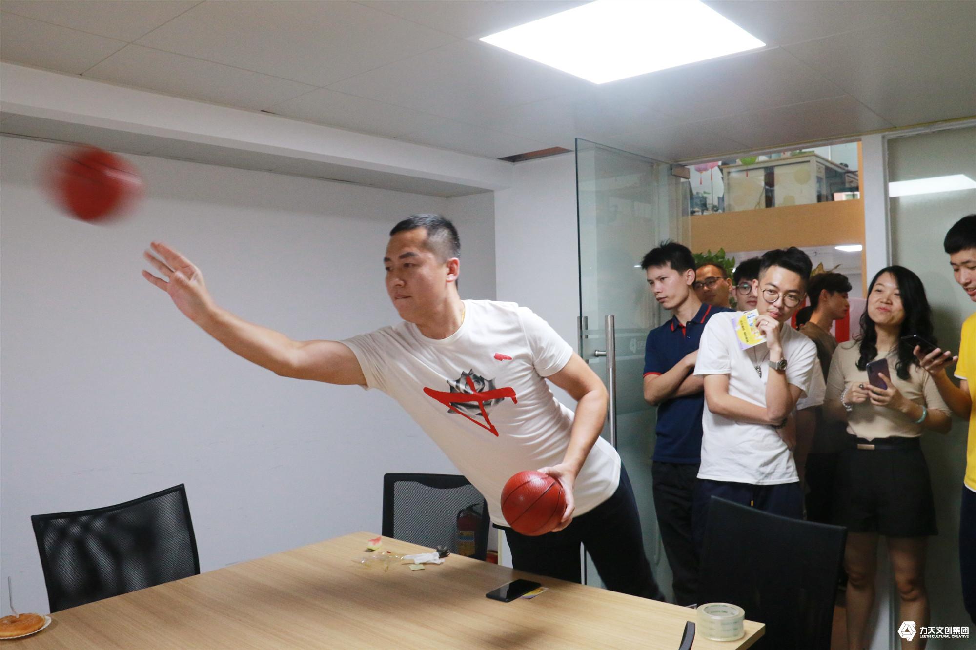 2019年力天文创集团  中秋联欢会   中秋节活动   后羿