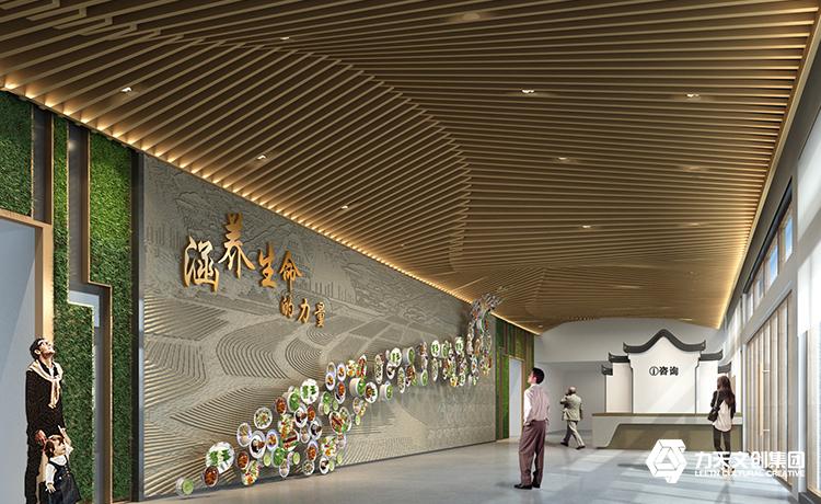 淮北鳳凰山綠色食品旅游文化博覽館|力天文創集團案例