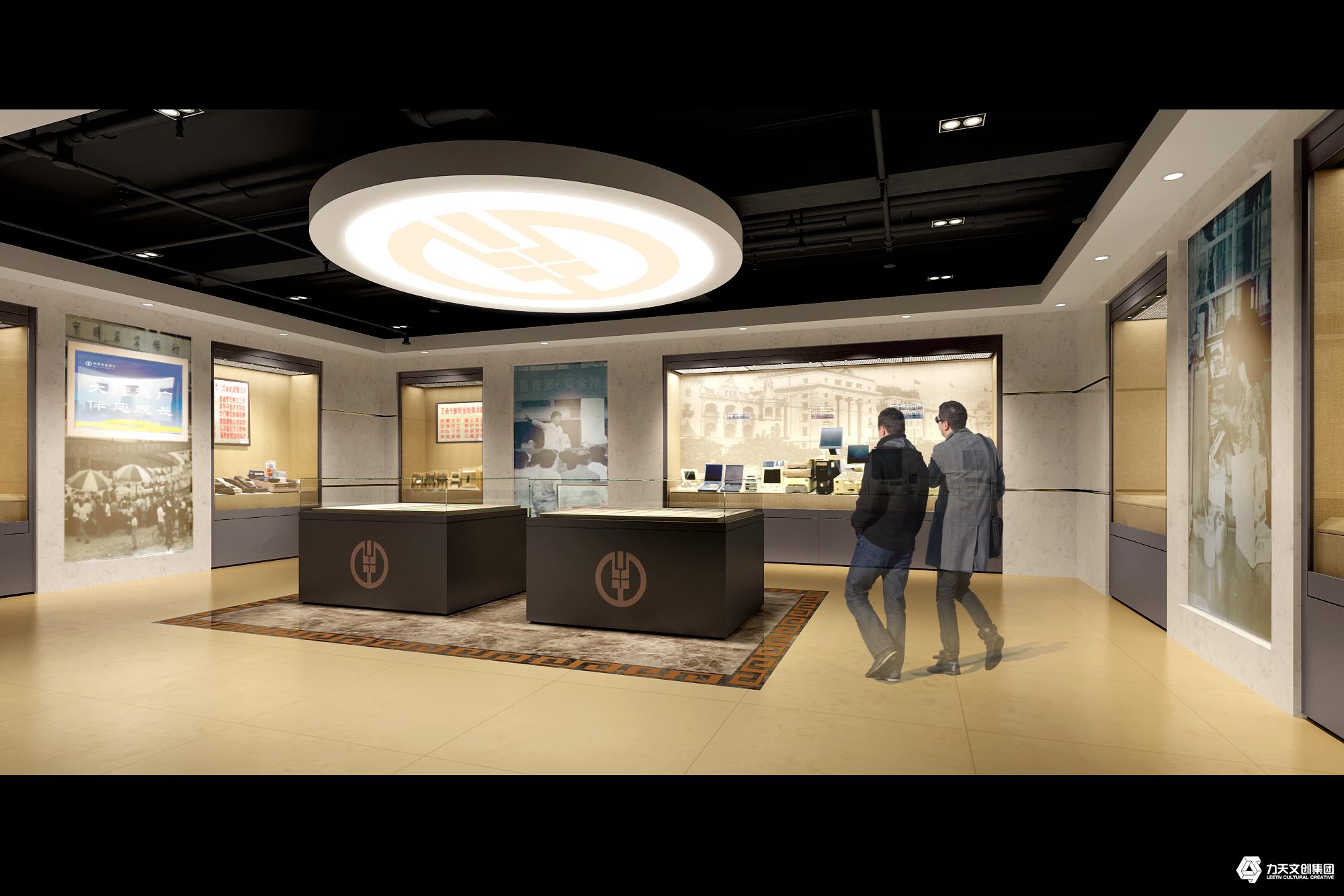 中国农业银行广州分行行史馆   电子LED触摸屏   互动体验设施 多媒体展示