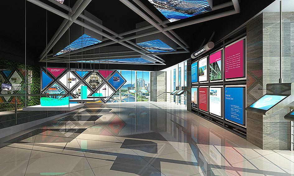 企业品牌展厅设计需要注意哪几点?