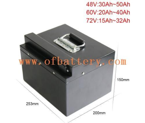 this is 60V electric car lithium battery