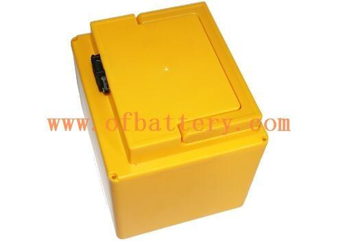 Large capacity electric tricycle battery