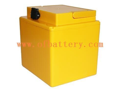 Electric tricycle battery for household use