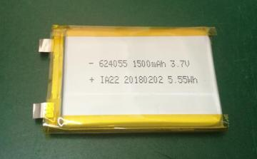 624055 Polymer lithium battery cell