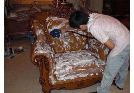 石家庄沙发清洗案例五