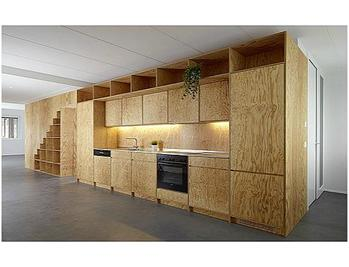Plywood Interior Cabinets