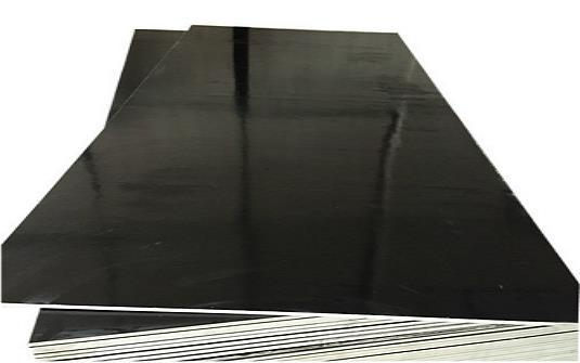 Black plywood for concrete construction