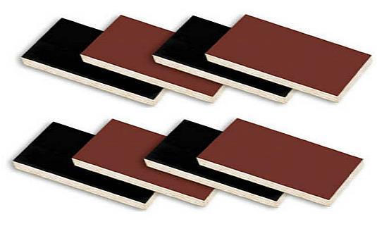 Black plywood for concrete buildings