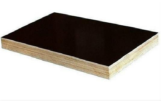 Black plywood for concrete structures