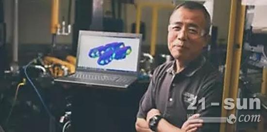 在产品开发过程的各个阶段,卡特彼勒都会使用虚拟仿真技术