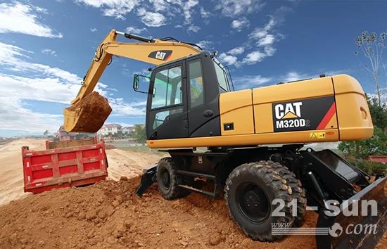 卡特彼勒新一代挖机(320GC, 320, 323)