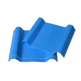 蓝色frp采光瓦