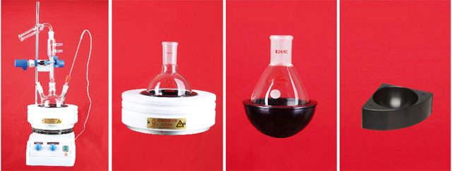 LH-01-单口圆底烧瓶(厚壁)厚玻管手工模具吹制1