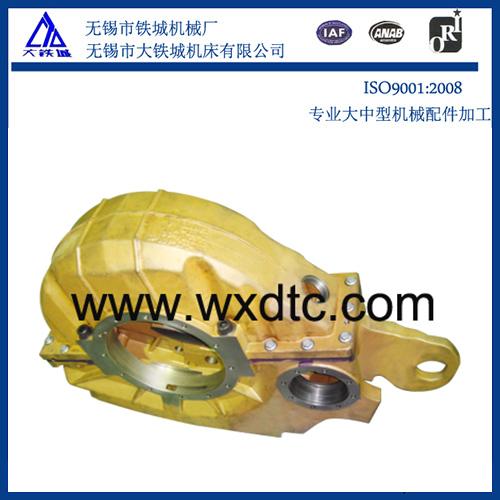 固定装置在大型法兰加工中的实际作用