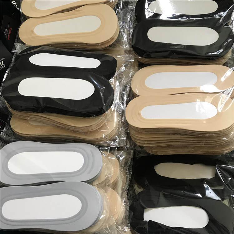 纯棉带胶隐形袜