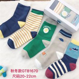 外贸卡通 童袜