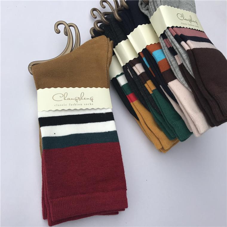 秋冬外贸袜子