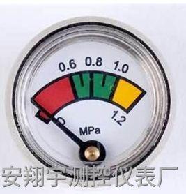 灭火器的压力表指针在哪里为正常