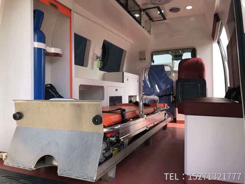 监护型救护车医疗舱
