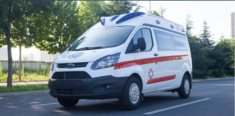 福特新全顺V362救护车(汽油版)