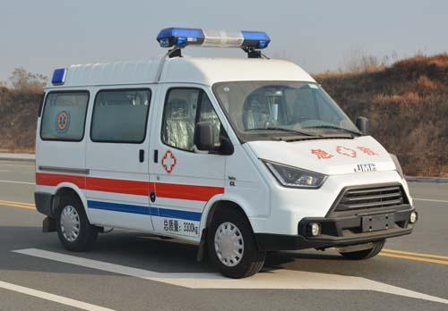 江铃特顺长轴救护车(柴油版)