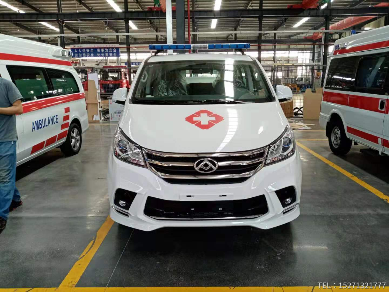 国六大通G10救护车销售15271321777