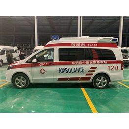 奔驰122汽油版长轴高顶监护型救护车
