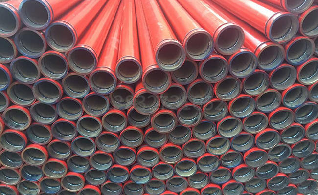 80混凝土泵泵管的图片