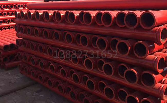 125混凝土泵管的图片