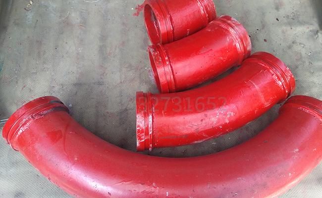 混凝土拖泵45度弯头有几种