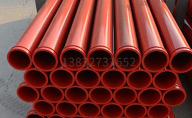 高压混凝土泵管的厚度有哪些