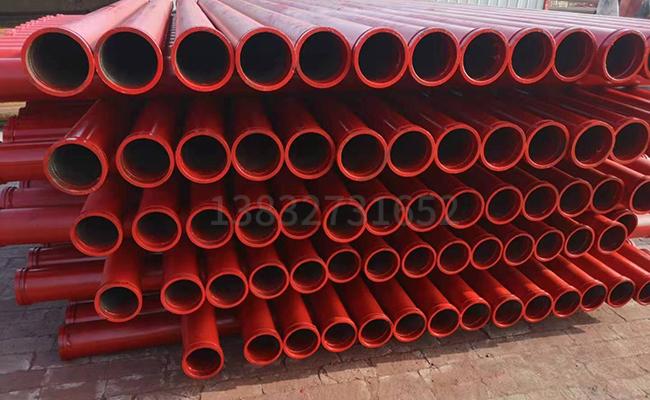 地泵管车泵管能打几万方混凝土3米多少钱