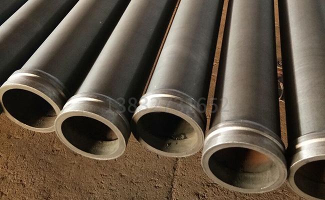 混凝土泵管出现沙眼的原因