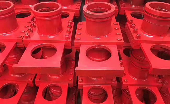 混凝土泵管截止阀