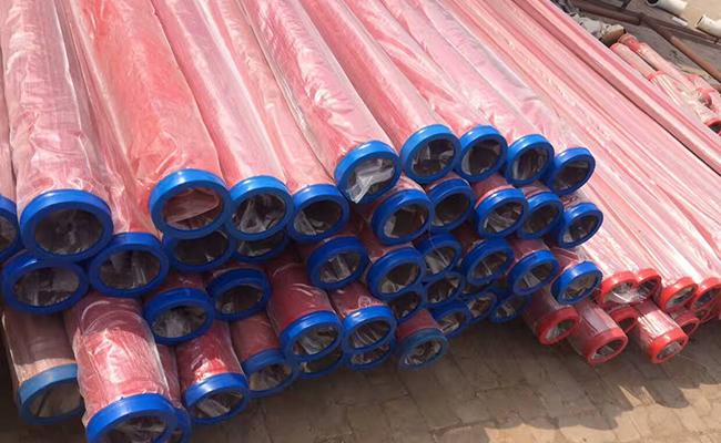 單層泵車輸送管